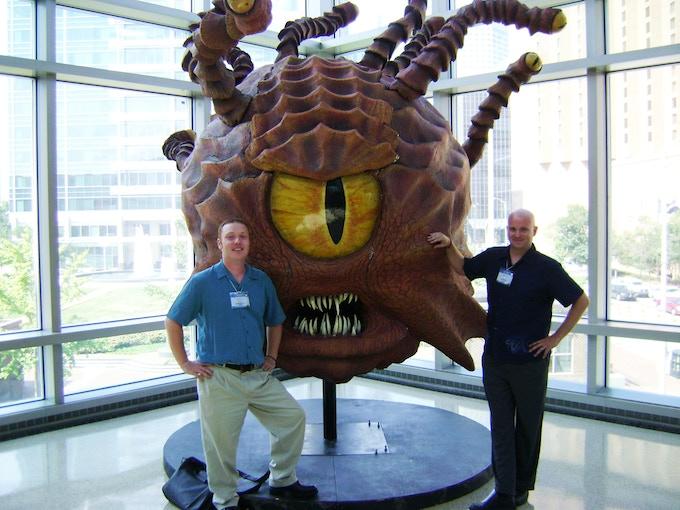 Justin, Beholder & Brad at GenCon 2010.