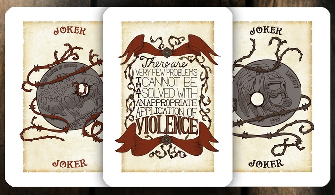 Wanted Poster Jokers and Art Card