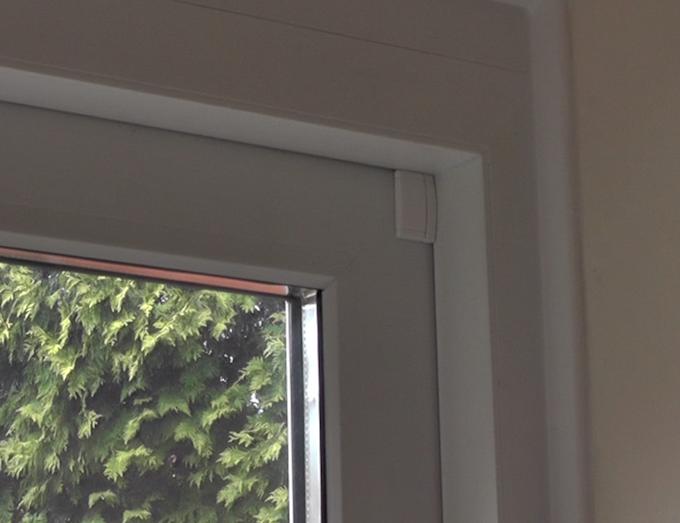 LILA Sensor on a patio door
