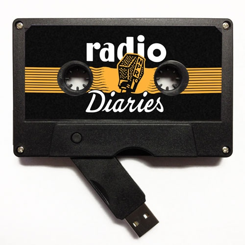 """A special usb drive of """"Radio Diaries Greatest Hits."""""""