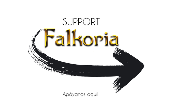 Falkoria the secret of Ender-Graphic Novel-Comic-Book by