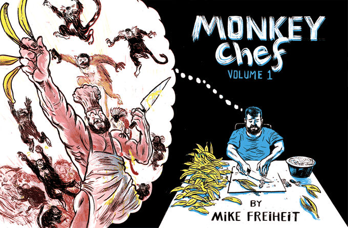 New Cover for Monkey Chef #1