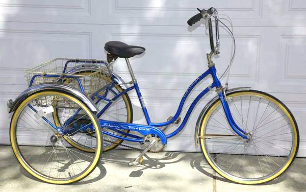 Classic Schwinn Town & Country Adult Tricycle