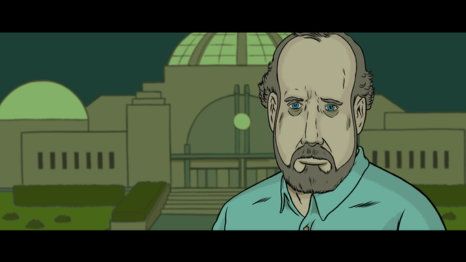 Giant Sloth - An animated crisis starring Paul Giamatti by Paul