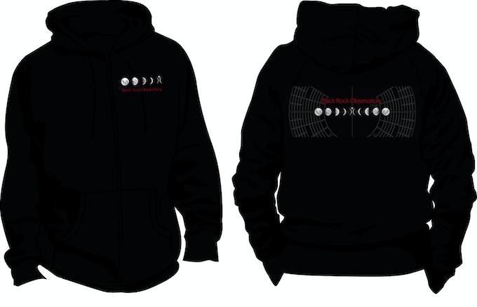 $100 Backer Reward: Zipper hoodie