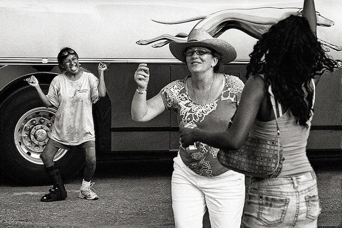 Dancers By Bus, Austin, 2010 (pg 17)