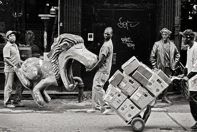 Lion Tamers, New York City, 2008 (pg 47)