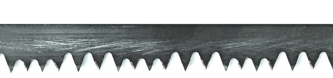 "Aggressive ""Sidney Rancher"" -  a custom, hand sharpened and long lasting blade made specifically for the BOREAL21 saw"