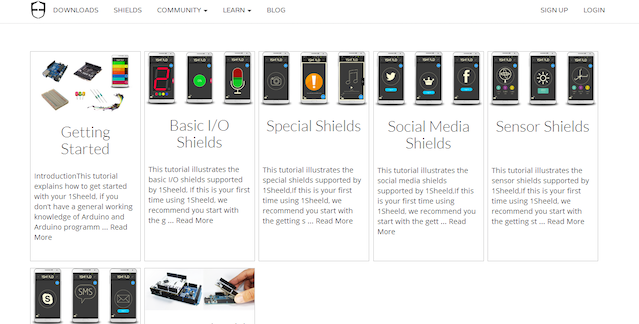 1Sheeld: Replace your Arduino shields with your smartphone