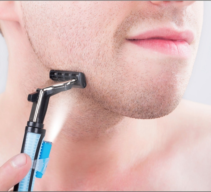 Perfect To See Every Detail When Shaving