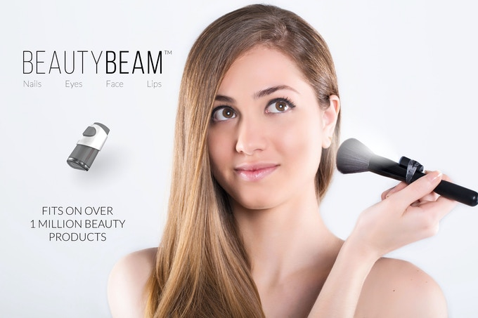 The BeautyBeam Fits on Over 1 Million Beauty Products