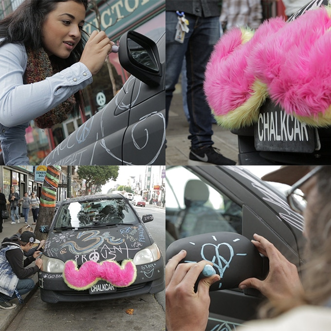 Chalk It Up, Chalk Car Party!