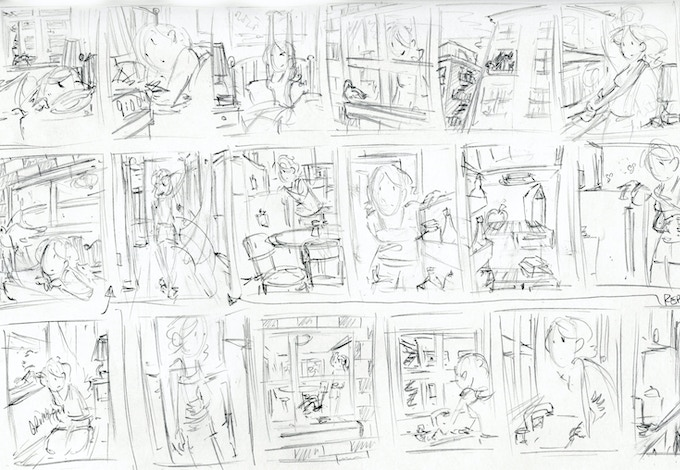 Early Pencil Sketches