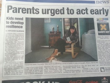 Herald Interview with Tracy on Self Harm & Building Emotional Resilience in our young people. 28th May 2014