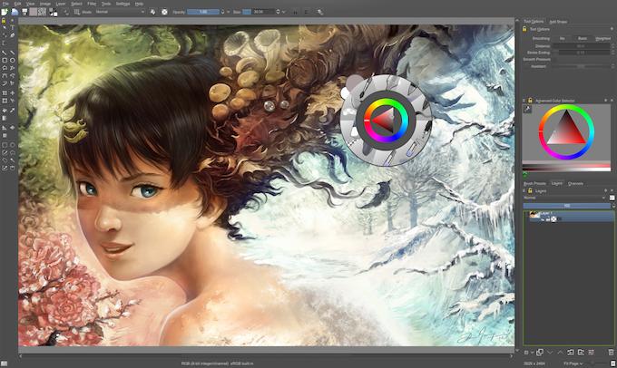 Krita: open source digital painting | Accelerate Development