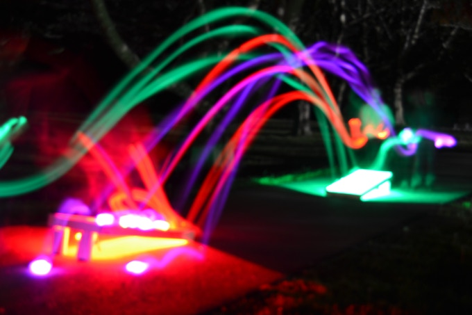 Real Picture of our LED Bean Bags in Motion