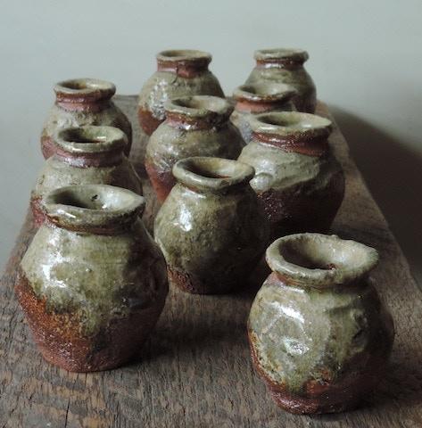 #3. Natural Ash Glazed Spice Jars ($30)