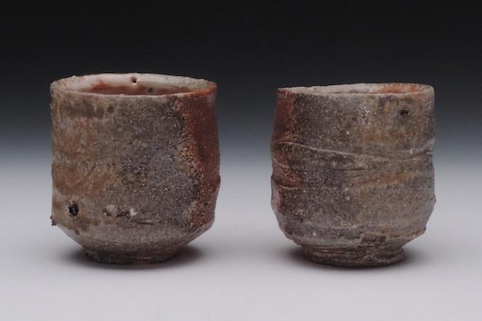 #8. Natural Ash Glazed Tea Cups ($75)