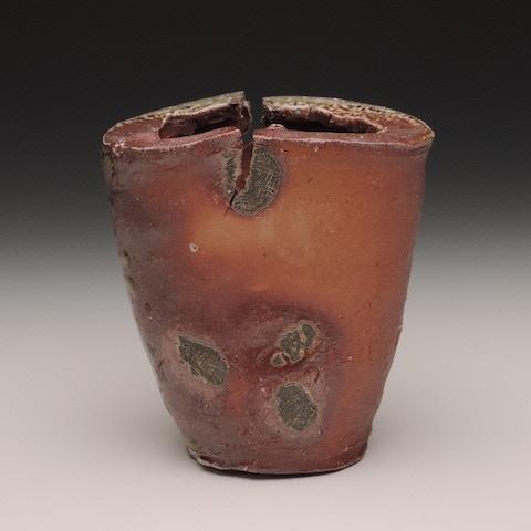 #18. Natural Ash Glazed Vessel ($270)
