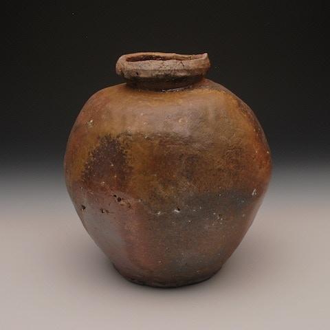 #22. Natural Ash Glazed Vessel ($400)