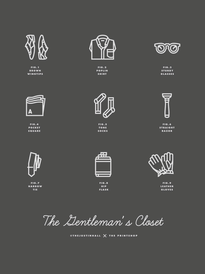 'Gent's Closet' by Justin Hall