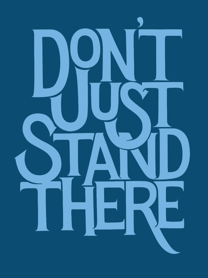 'Don't Just Stand There' by Jeff Sheldon