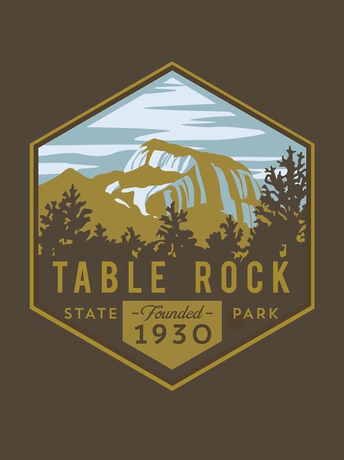 'Table Rock' by Dapper Ink