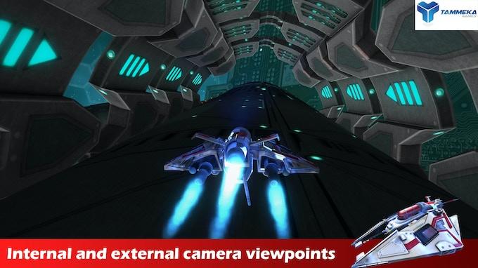 Radial-G : external camera viewpoint
