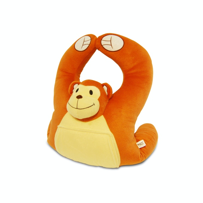 Boosterpalz The Supportive Plush Travel Pillow For Kids