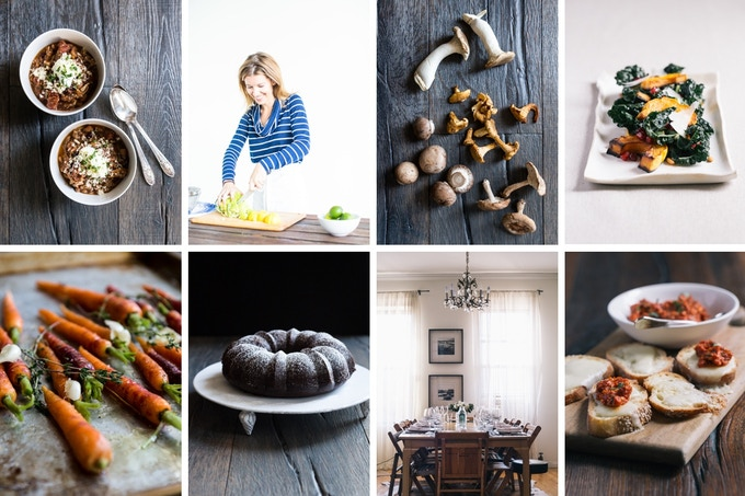 Some fun shots from the book! (Food photos by Signe Birck)