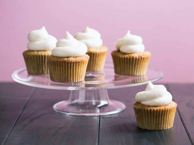 Gluten-free banana cupcakes. (Photo by Signe Birck)