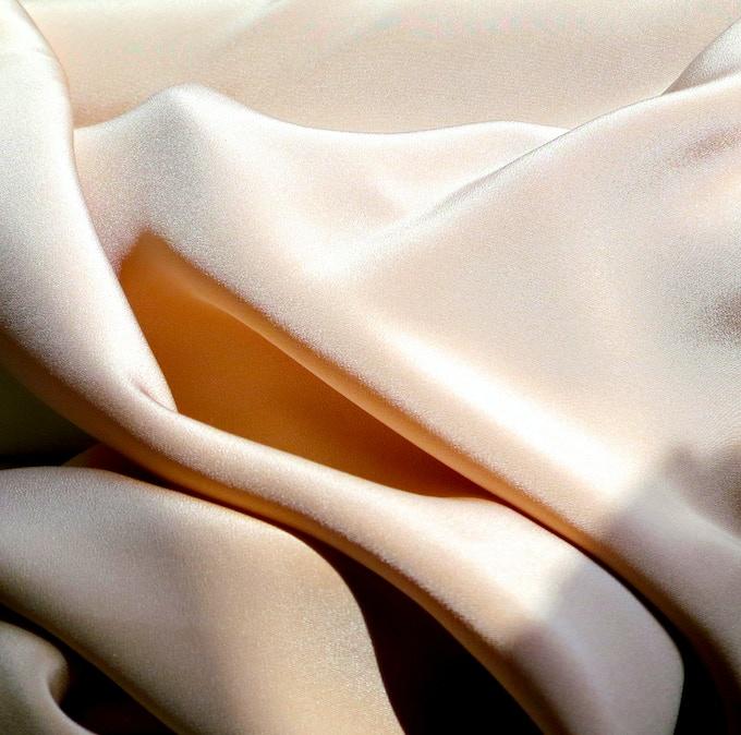 2-ply silk in Blush