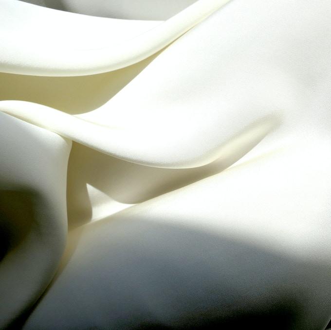 2-ply silk in Cream