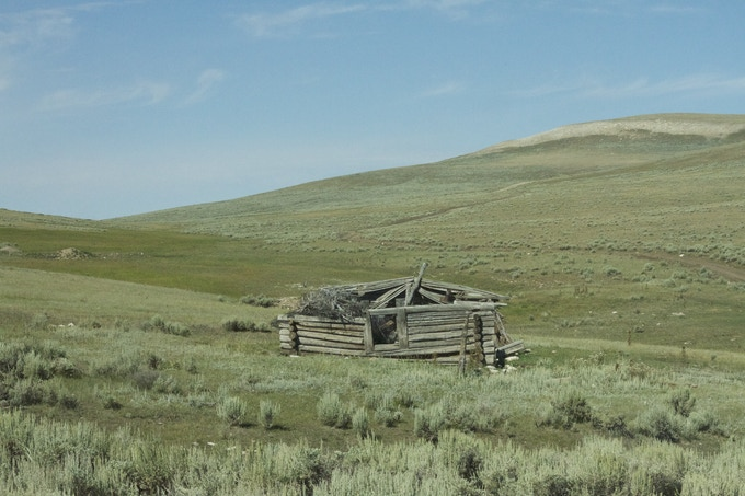 Original Homestead in the Big Horn Mountains