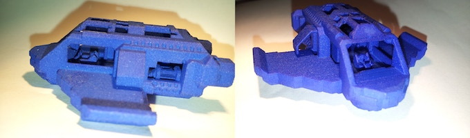 High detail 3d print with interiors - 7cm  / 2.75 inches