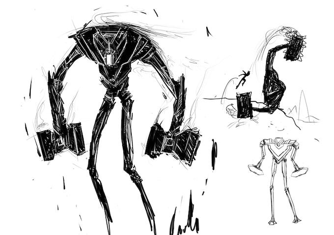 Some designs of the War Golem