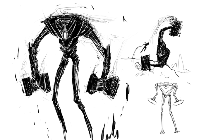 Some designs of the War Golem