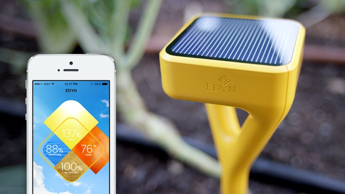 with advanced tracking technology and intuitive design the edyn smart garden system keeps you connected to your garden or farm so you can grow healthier - Edyn Garden Sensor