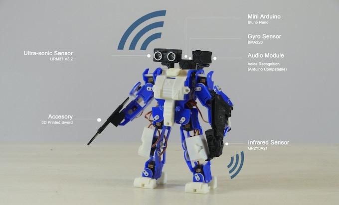 Ai.Frame Apollo with Mounted Sensors