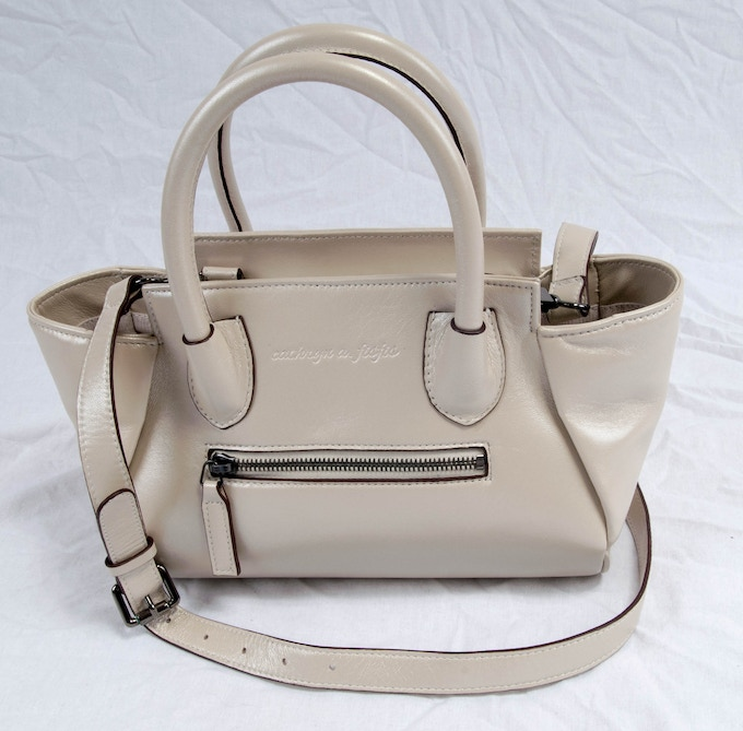 Elsa...small cowhide satchel, little sister to the Emanuella