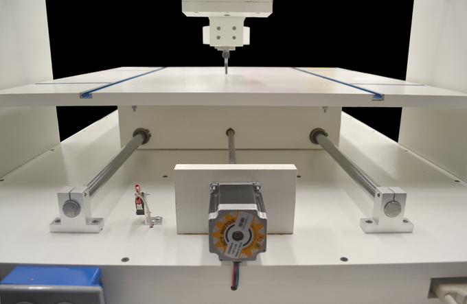 """High torque stepper motors, advanced motor drivers and ball bearing lead screws mean high speed cutting - up to 80""""/min with plenty of torque."""