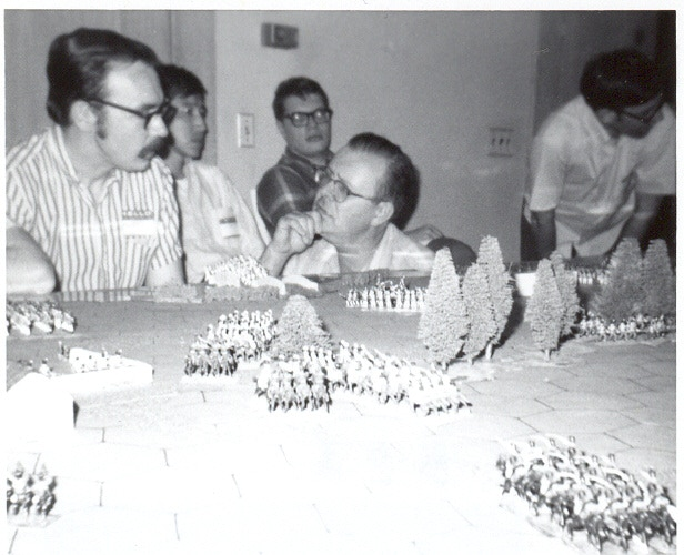 Gary Gygax (striped shirt) at Gen Con II