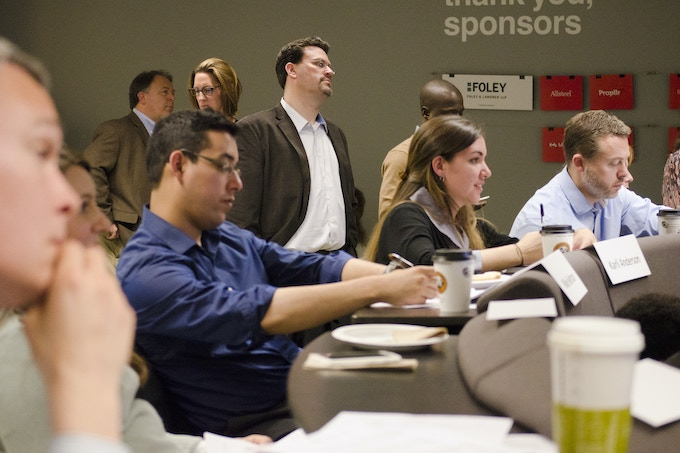 Our panel of judges included some of Chicago's most successful inventors, entrepreneurs, and design practitioners.
