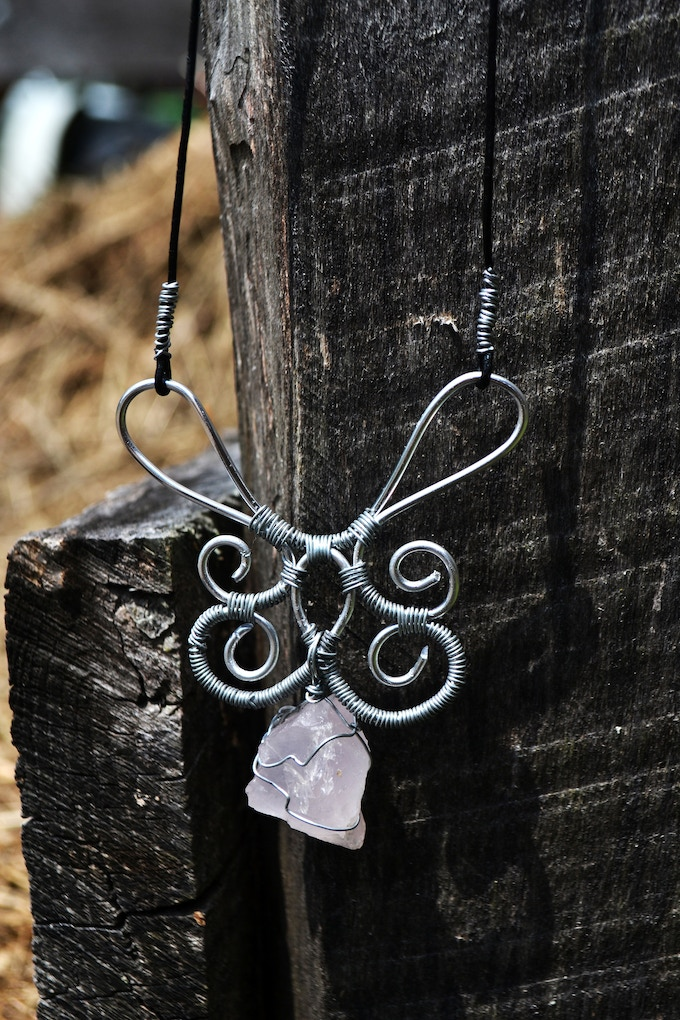 An example of one of my necklaces