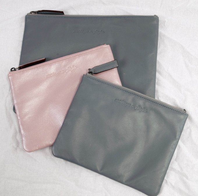 Maggie & Lucy pouches..
