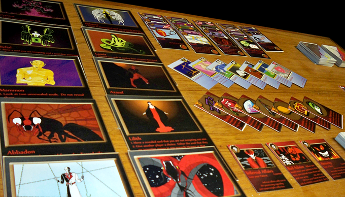 Each game comes with a full color set of illustrated cards.