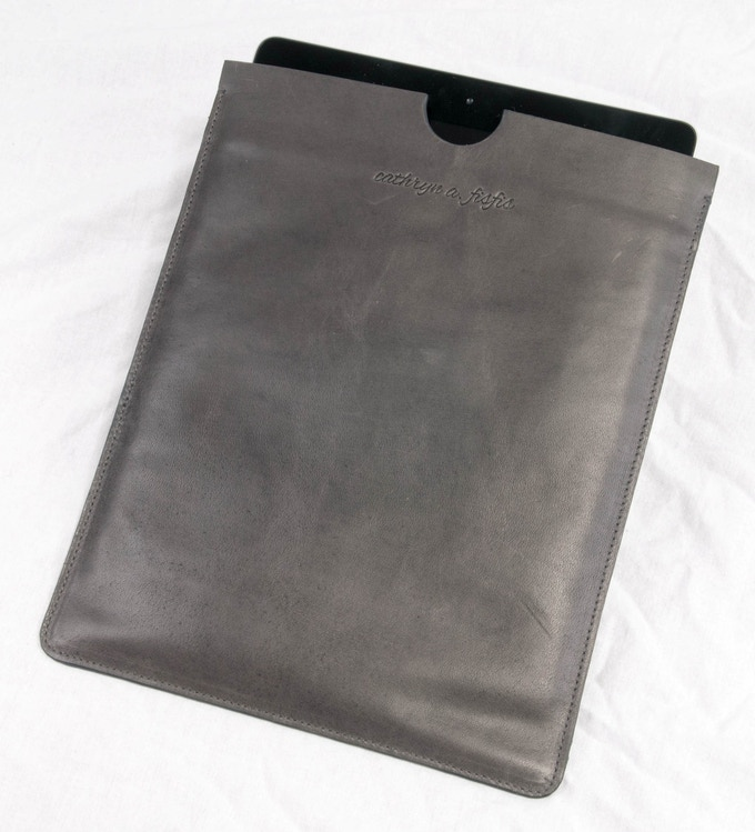 Taylor - cowhide iPad case..