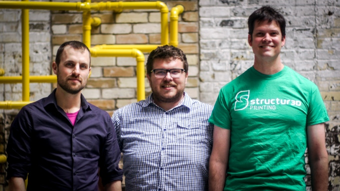 Meet the Structur3D team: John, Andrew & Charles