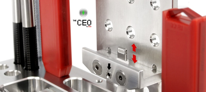 CEO-D Z Axis Cable Adjustment Screw