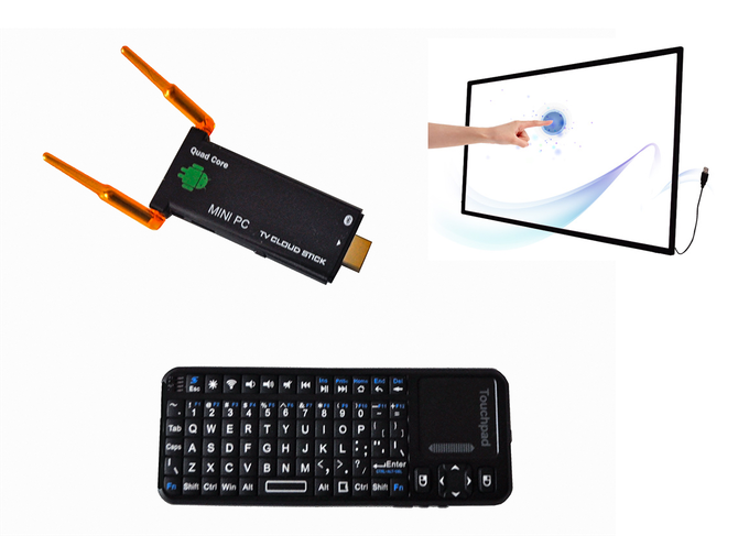 Mini-PC, Controller and Touch